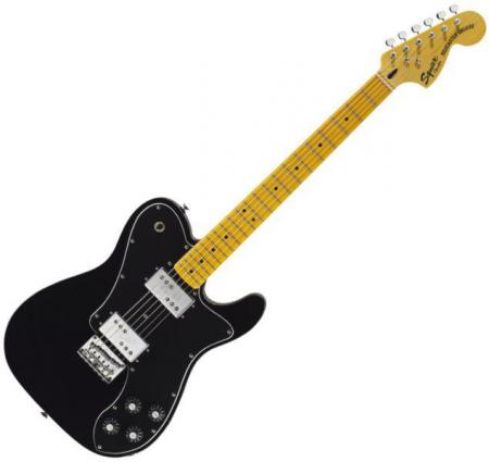Vintage Modified Telecaster Deluxe, Maple Fingerboard, Black (Squier by Fender Vintage Modified Telecaster Deluxe, Maple Fingerboard, Black)