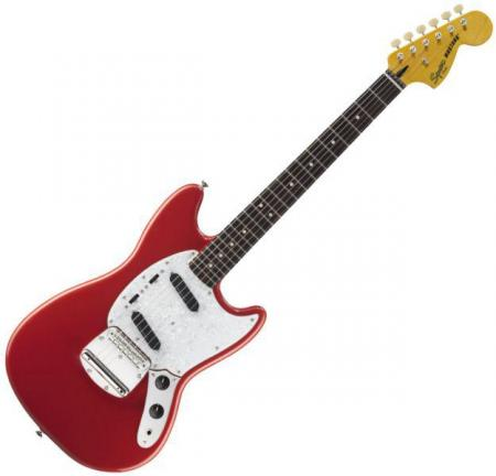 Vintage Modified Mustang, Rosewood Fingerboard, Fiesta Red (Squier by Fender Vintage Modified Mustang, Rosewood Fingerboard, Fiesta Red)