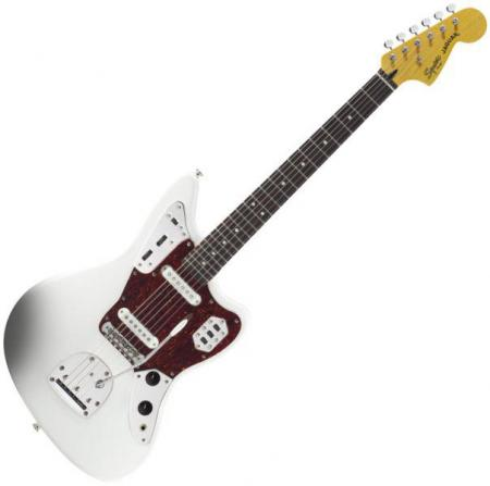Vintage Modified Jaguar, Rosewood Fingerboard, Olympic White (Squier by Fender Vintage Modified Jaguar, Rosewood Fingerboard, Olympic White)