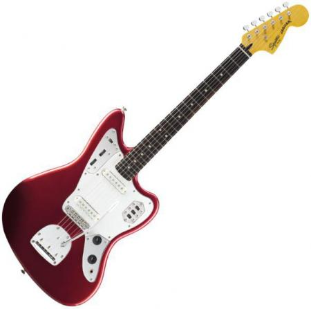 Vintage Modified Jaguar, Rosewood Fingerboard, Candy Apple Red (Squier by Fender Vintage Modified Jaguar, Rosewood Fingerboard, Candy Apple Red)