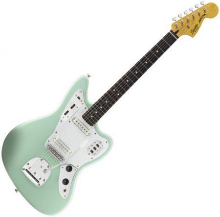 Vintage Modified Jaguar, Rosewood Fingerboard, Surf Green (Squier by Fender Vintage Modified Jaguar, Rosewood Fingerboard, Surf Green)