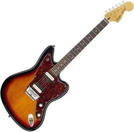 Vintage Modified Jaguar HH, Rosewood Fretboard, 3-Color Sunburst (Squier by Fender Vintage Modified Jaguar HH, Rosewood Fretboard, 3-Color Sunburst)