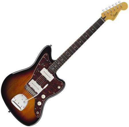 Vintage Modified Jazzmaster, Rosewood Fingerboard, 3-Color Sunburst (Squier by Fender Vintage Modified Jazzmaster, Rosewood Fingerboard, 3-Color Sunburst)