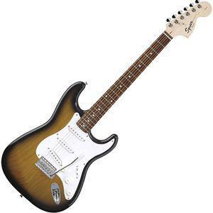 Affinity Stratocaster Rosewood Fretboard, Brown Sunburst, Export (Squier by Fender Affinity Stratocaster Rosewood Fretboard, Brown Sunburst, Export)