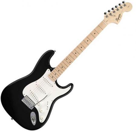 Affinity Stratocaster Maple Fretboard, Black (Squier by Fender Affinity Stratocaster Maple Fretboard, Black)