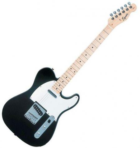 Affinity Telecaster Maple Fretboard, Black (Squier by Fender Affinity Telecaster Maple Fretboard, Black)