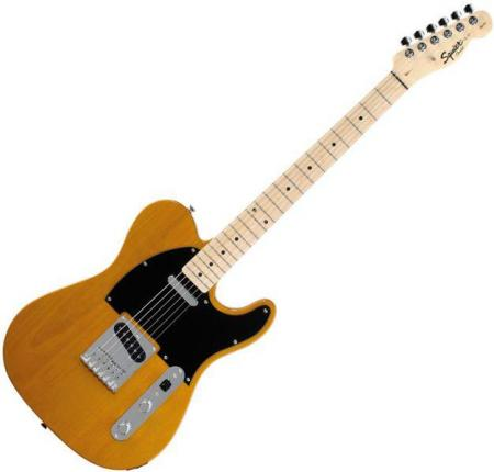 Affinity Telecaster Maple Fretboard, Butterscotch Blonde (Squier by Fender Affinity Telecaster Maple Fretboard, Butterscotch Blonde)