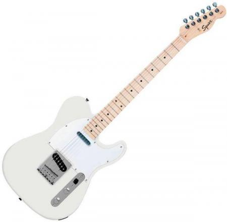 Affinity Telecaster Maple Fretboard, Arctic White (Squier by Fender Affinity Telecaster Maple Fretboard, Arctic White)