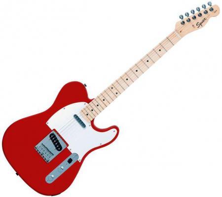 Affinity Telecaster Rosewood Fretboard, Metallic Red (Squier by Fender Affinity Telecaster Rosewood Fretboard, Metallic Red)