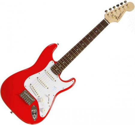 Affinity Mini, Rosewood Fretboard, Torino Red (Squier by Fender Affinity Mini, Rosewood Fretboard, Torino Red)