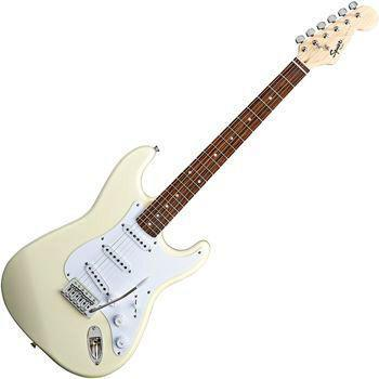 Bullet Strat with Tremolo, Rosewood Fretboard, Arctic White (Squier by Fender Bullet Strat with Tremolo, Rosewood Fretboard, Arctic White)