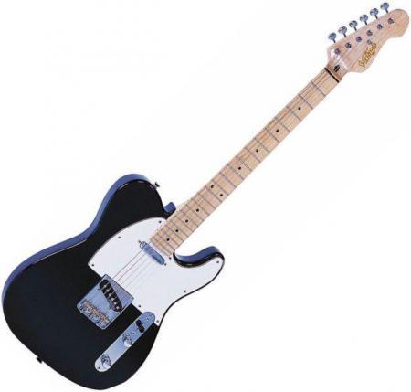 TC200B telecaster gitár/fekete (Vintage TC200B telecaster gitár/fekete)