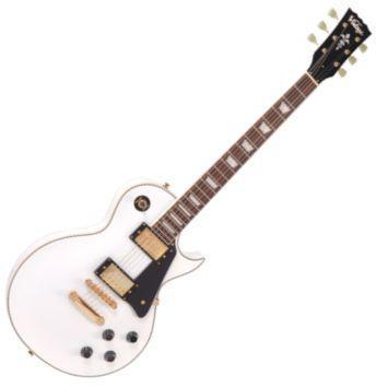 V100AW LP gitár fehér (Vintage V100AW LP gitár fehér)