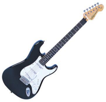 V6BB strato gitár/fekete (Vintage V6BB strato gitár/fekete)