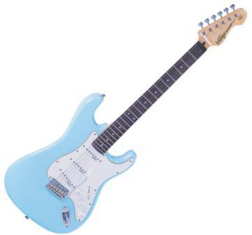 V6LB strato gitár/laguna kék (Vintage V6LB strato gitár/laguna kék)