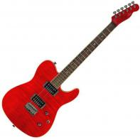 Fender Special Edition Custom Telecaster® FMT HH, Rosewood Fretboard, Crimson Red Trans