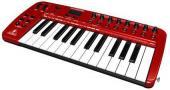 MIDI billentyűk