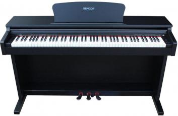 SDP100 BK digitális zongora, fekete (Sencor SDP-100 BK digitális zongora, fekete)