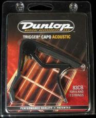 83CB akusztikus gitár capo (Dunlop 83CB akusztikus gitár capo)