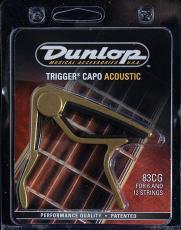 83CG akusztikus gitár capo (Dunlop 83CG akusztikus gitár capo)