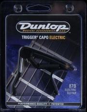 87B elektromos gitár capo (Dunlop 87B elektromos gitár capo)