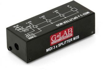 M3S MIDI 3x Splitter (G-Lab M3S MIDI 3x Splitter)