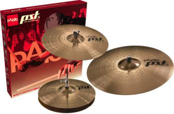 PST5 Universal Szett 14HH/16MC/20MR (Paiste PST5 Universal Szett 14HH/16MC/20MR Hi-Hat + Crash + Ride Cintányér Szett)